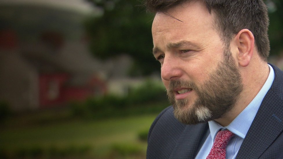 Colum Eastwood says gay brother feels unwelcome in NI