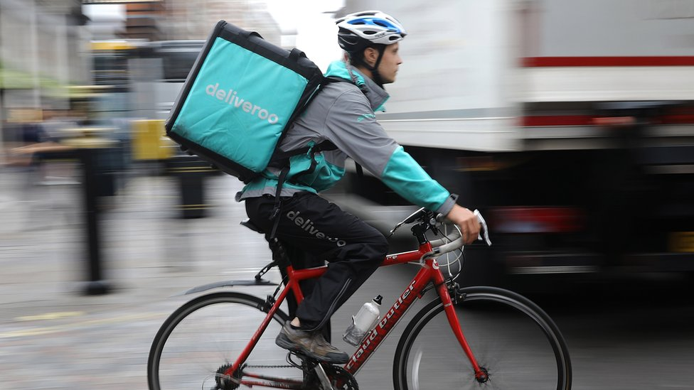 Deliveroo reveals big rise in rider numbers