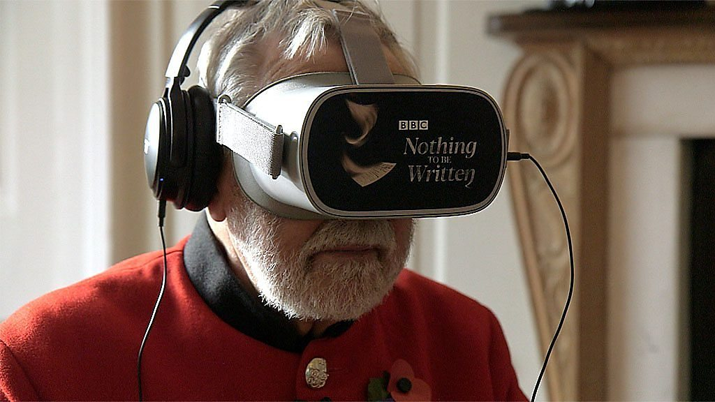 Chelsea Pensioners' verdict on WW1 VR experience.
