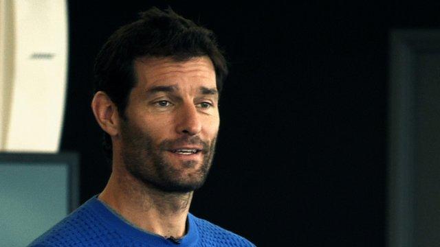 Former F1 driver Mark Webber