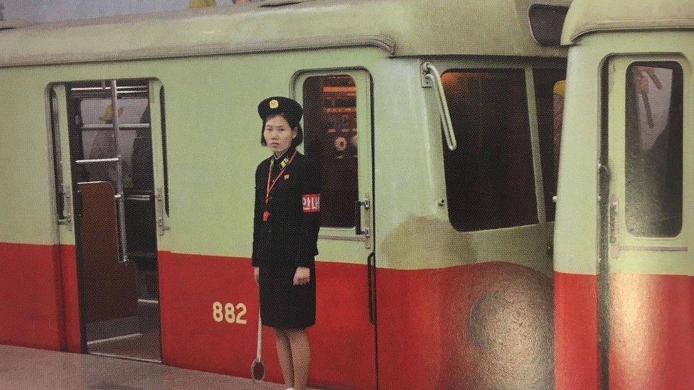 Metro, Pjongjang, 2018.