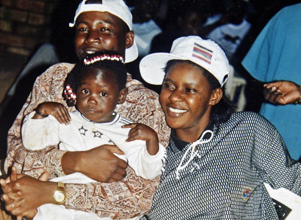 Kigula y su familia