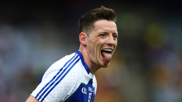 Conor McManus scored a vital late goal for Monaghan