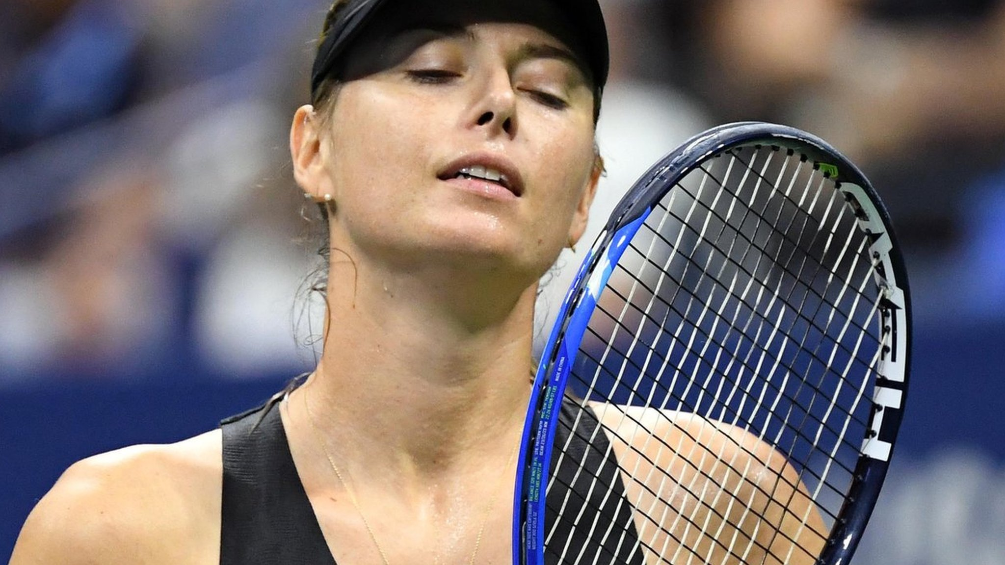 US Open 2018: Maria Sharapova says she has had tougher times after last-16 defeat