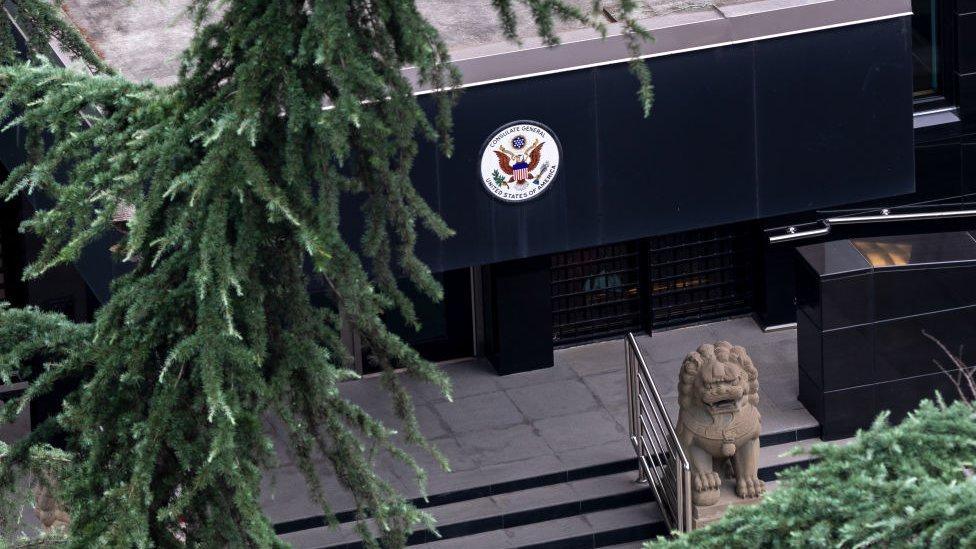 中國政府在7月24日宣佈反制措施,通知美國關閉其駐成都總領事館。