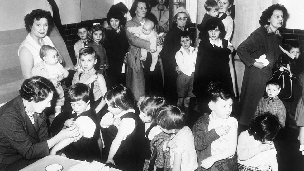 Deca se vakcinišu 1962