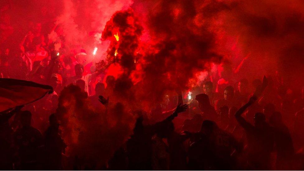 جماهير نادي الأهلي المصري