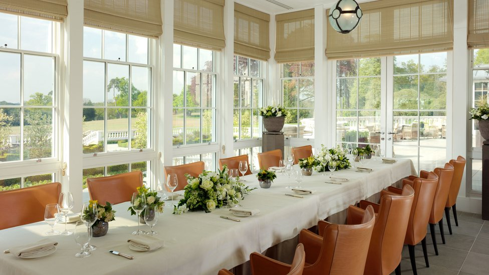 Restaurant in Coworth Park