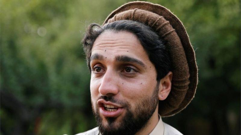 احمد مسعود، احد قادة المعارضة الأفغانية
