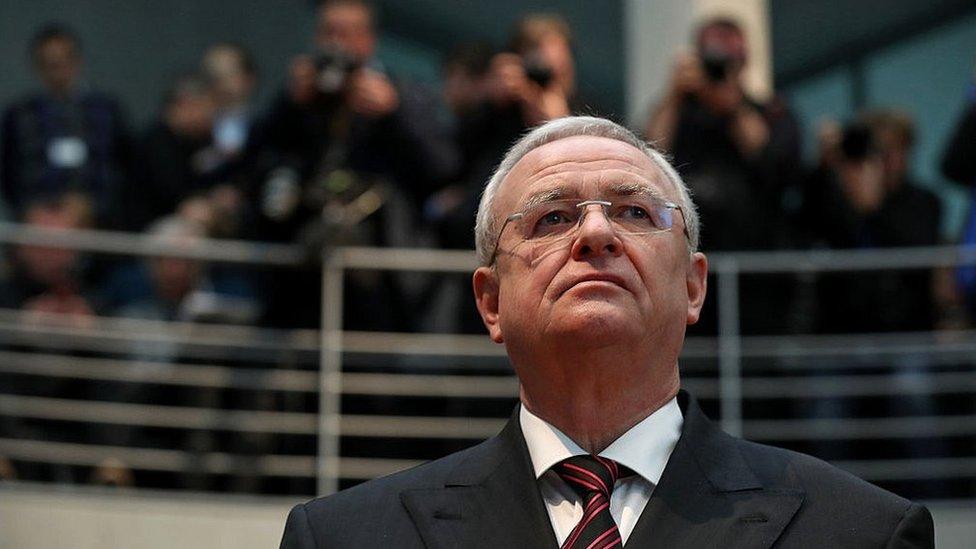 Martin Winterkorn, former CEO of German carmaker Volkswagen