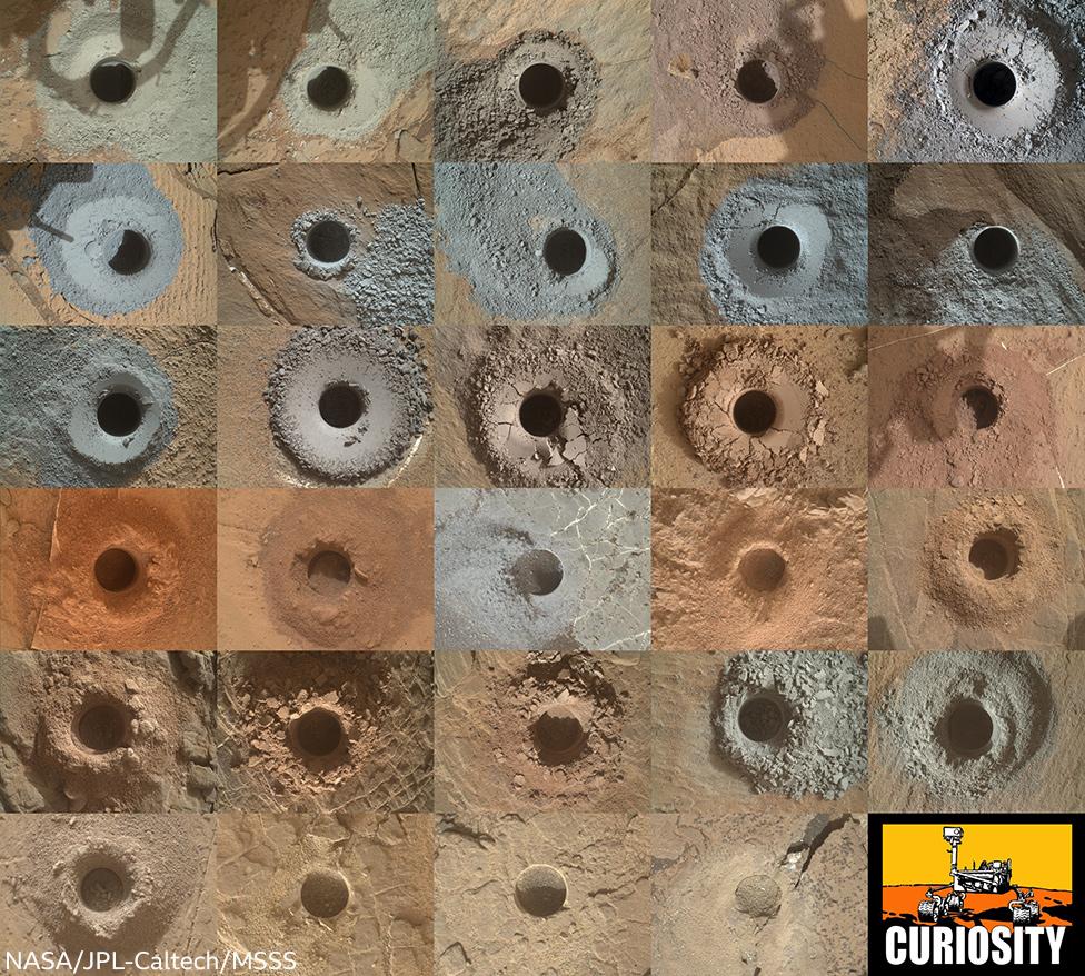 Drillholes