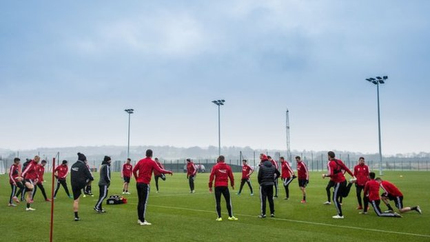 Aberdeen's training session was cancelled on Thursday after the positive test