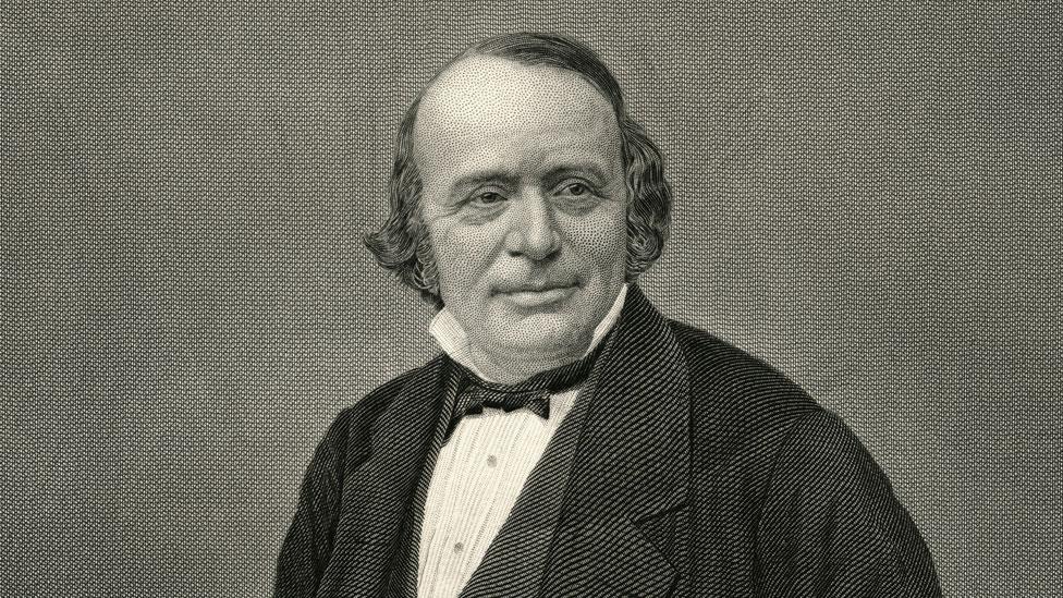 Retrato de Louis Agassiz