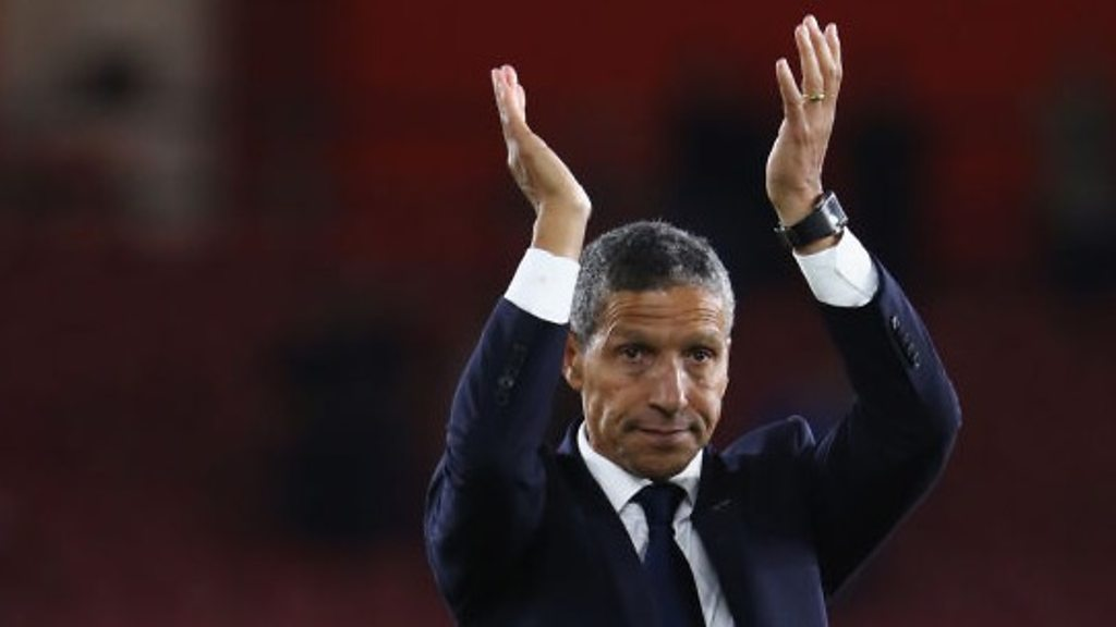Southampton 2-2 Brighton: Chris Hughton says result 'feels like a win'