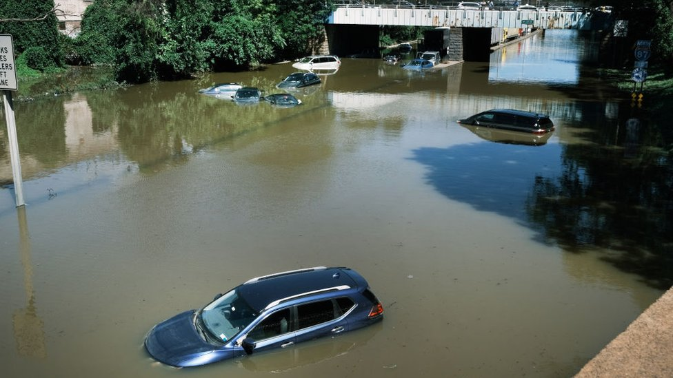 فيضانات إعصار أيدا