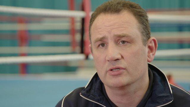 Great Britain boxing coach Rob McCracken
