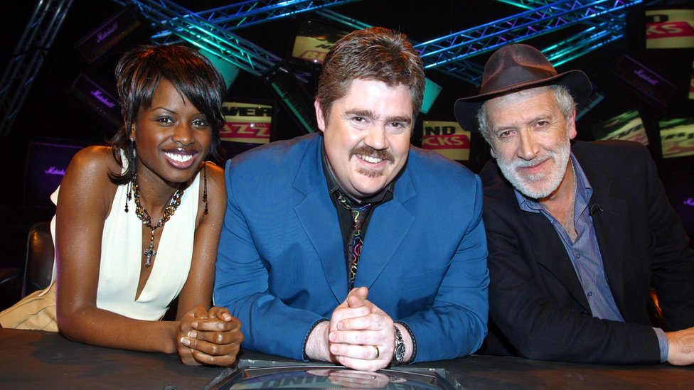 Haskell appeared alongside June Sarpong and Phill Jupitus on the BBC music quiz show Never Mind the Buzzcocks in 2003