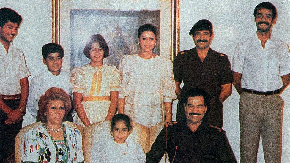 Familia de Saddam Hussein