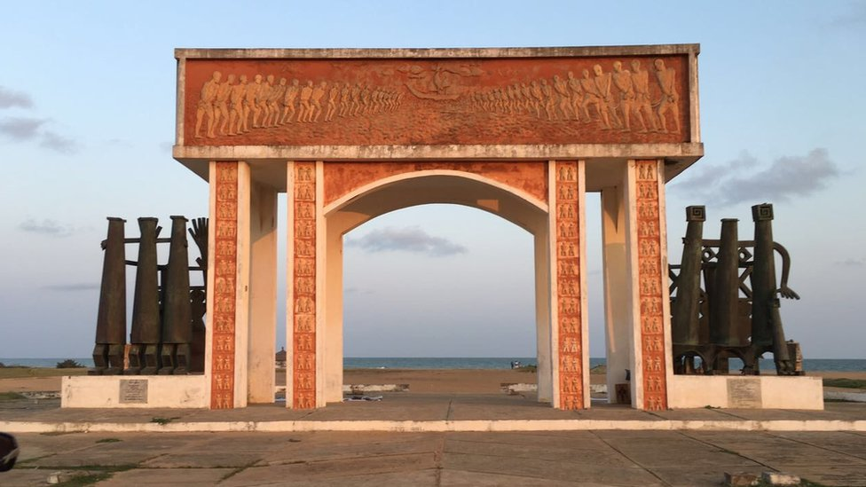 "La Porte du Non-Retour ""Door of no Return"" in Ouidah"