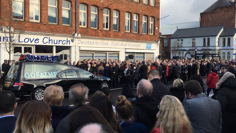Ian Ogle funeral
