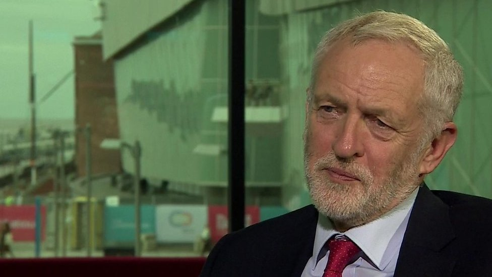 Labour conference: Jeremy Corbyn asked about new Brexit referendum