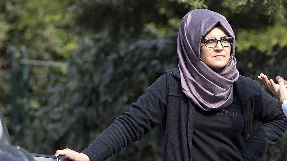 خديجة جنكيز، خطيبة الصحفي السعودي الراحل جمال خاشقجي