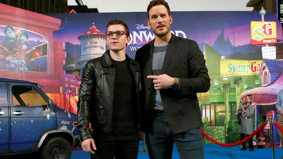 Tom Holland and Chris Pratt