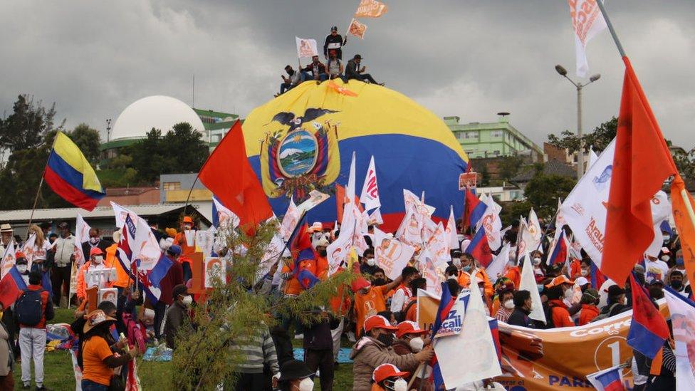 Campaña en Ecuador