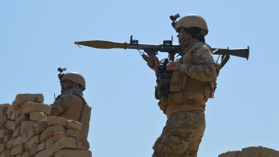 Avganistanske bezbednosne snage
