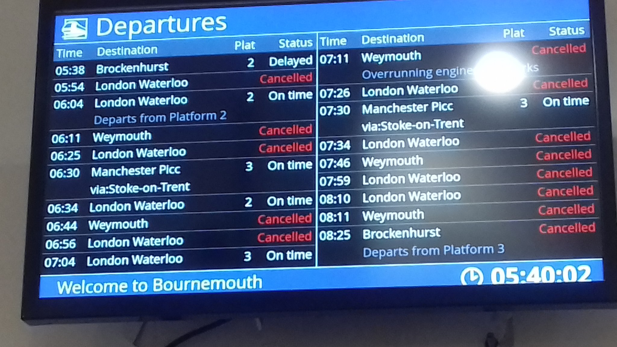 South Western Railway: The people hit by Waterloo delays