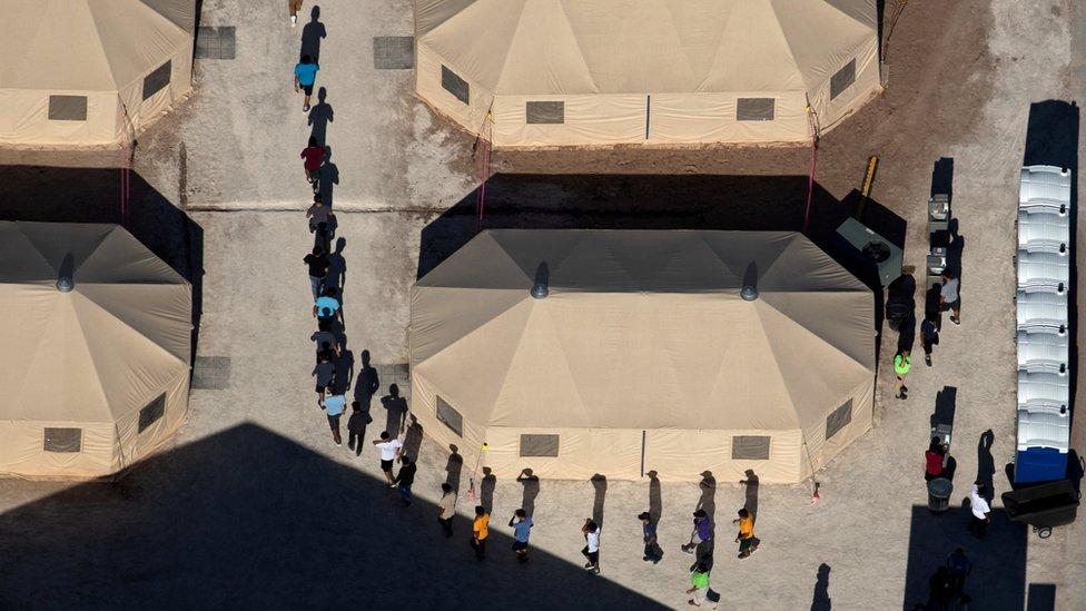 US military plans migrant tent camps amid Trump crackdown