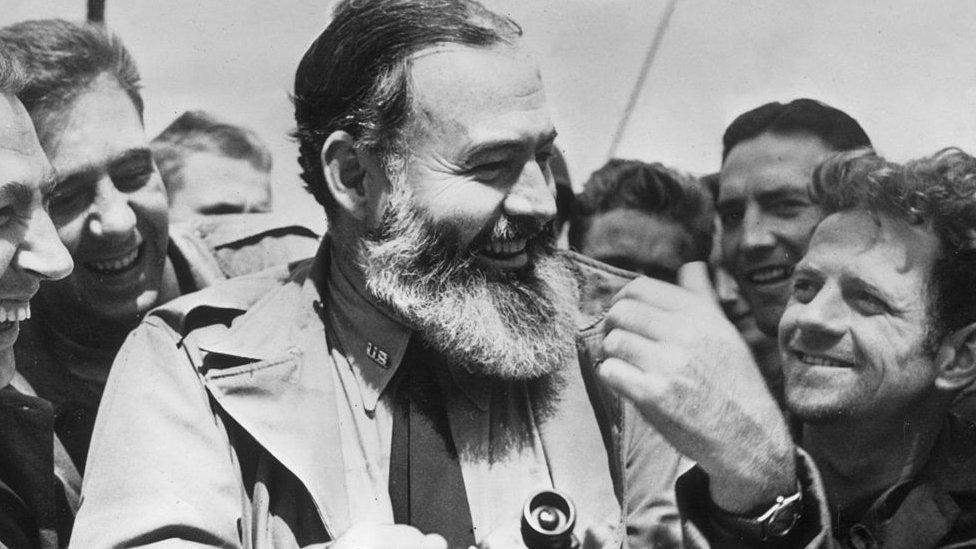 Hemingway en 1944.