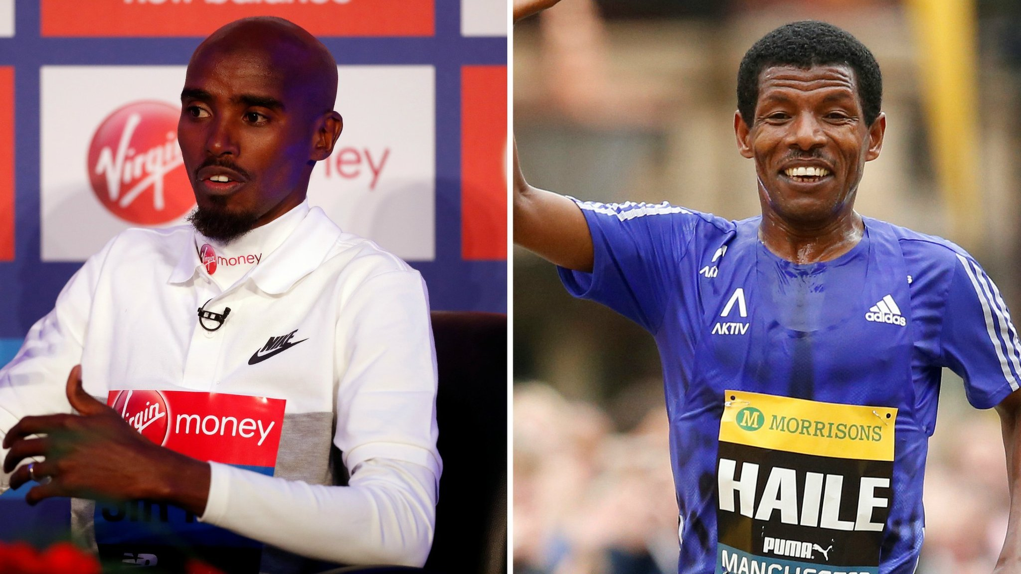 Mo Farah & Haile Gebrselassie in dispute over alleged theft