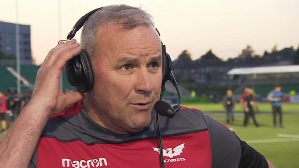 Pro14: Scarlets in final, but Wayne Pivac 'disappointed' with aspects of play