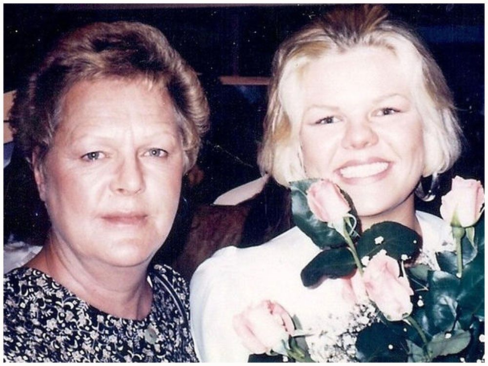 Carol Dodge y su hija Angie