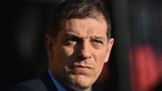 West Ham boss Slaven Bilic