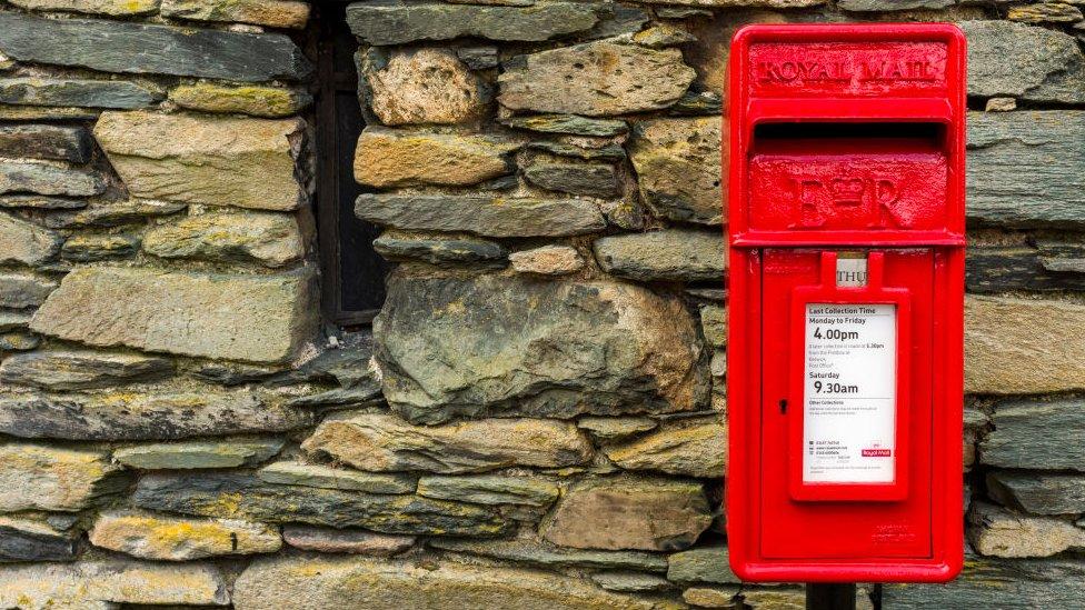 Royal Mail post box