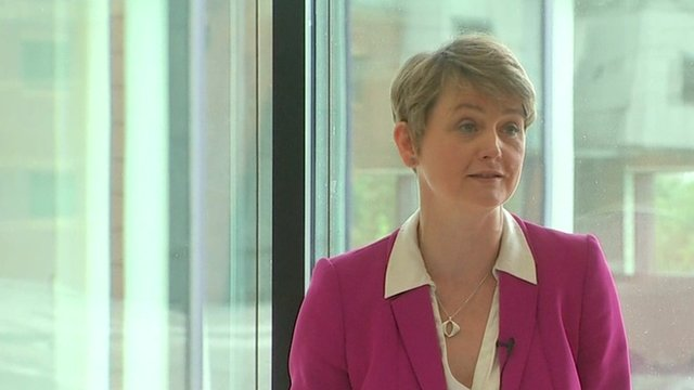 Labour leader candidate Yvette Cooper