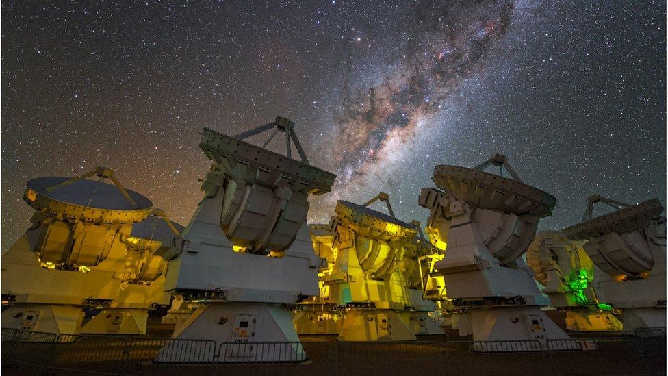 ALMA array in Chile
