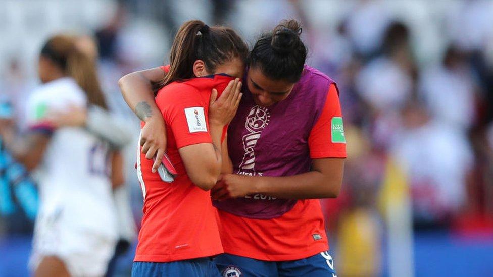 Chile no tuvo manera de parar la aplanadora estadounidense.