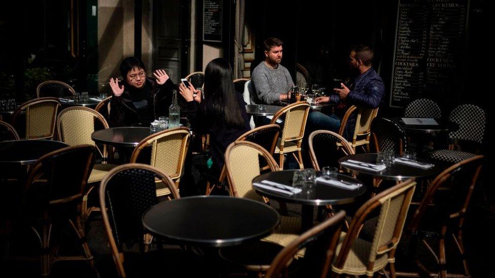 El 72% de los franceses come en un restaurante al menos una vez a la semana.