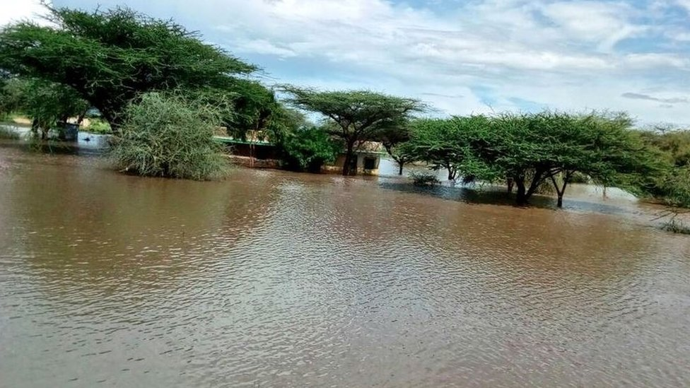 Flooding in Ngaremara, Meru county, Kenya