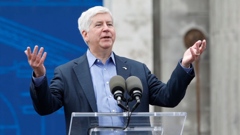 Flint water crisis: Michigan charges ex-governor Rick Snyder thumbnail