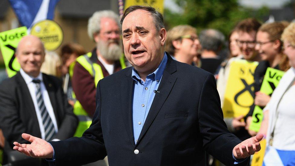 Alex Salmond denies the claims made against him