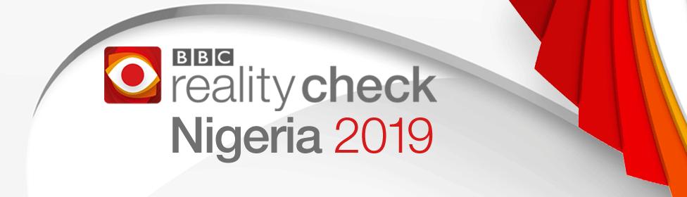 BBC Reality Check Nigeria 2019 banner