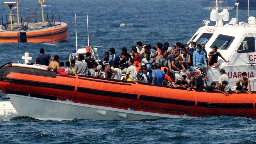 göçmen botu