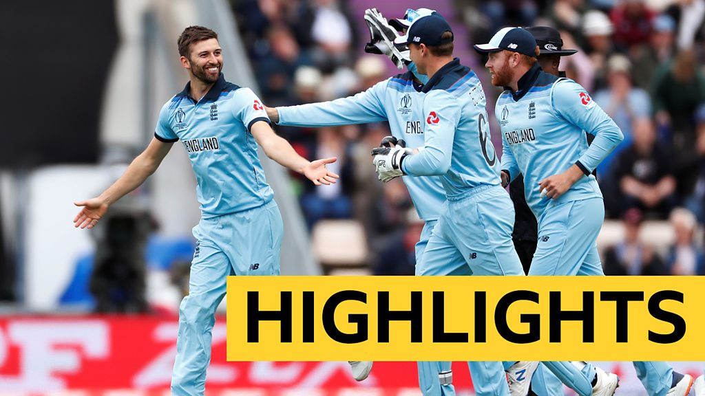 Cricket World Cup: England beat West Indies by eight wickets