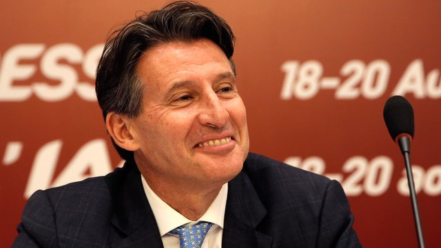 Former Olympic 1500m champion Lord Coe
