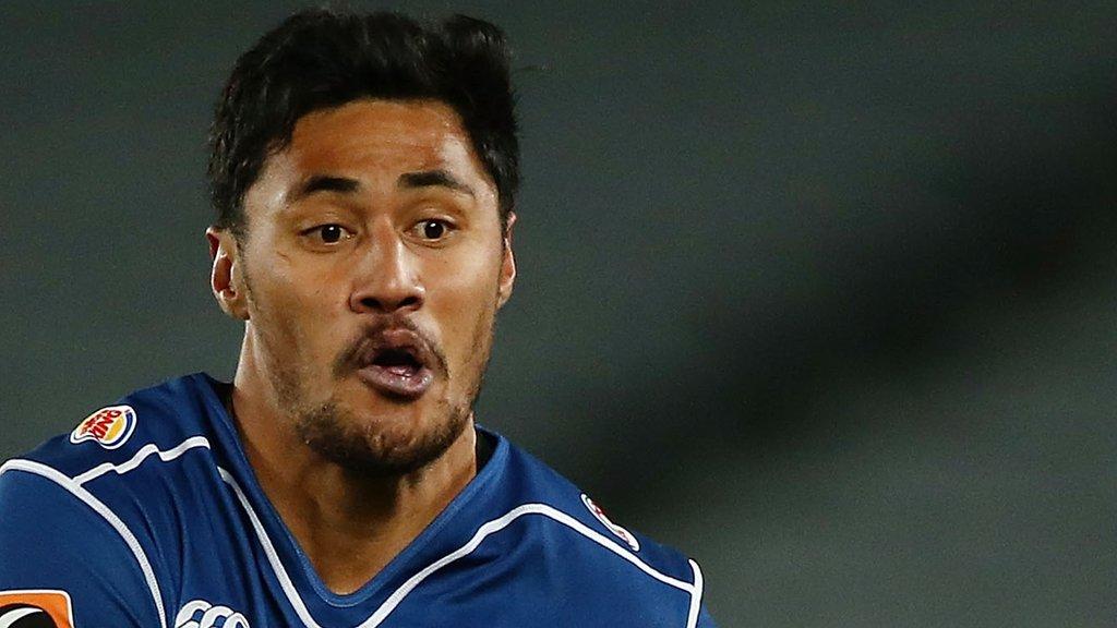 Melani Nanai: Samoan wing agrees to join Worcester Warriors next season