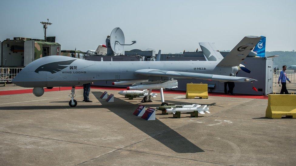 China se ha convertido en uno de los principales exportadores de drones a países de Medio Oriente.